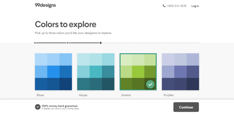 99designs Colors to explore. Pick up to three colors you'd like your designers to explore.